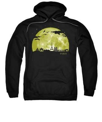 Paris Skyline Hooded Sweatshirts T-Shirts