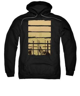 River Hooded Sweatshirts T-Shirts
