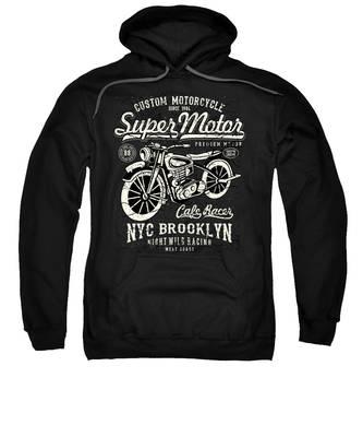 Bicycle Hooded Sweatshirts T-Shirts