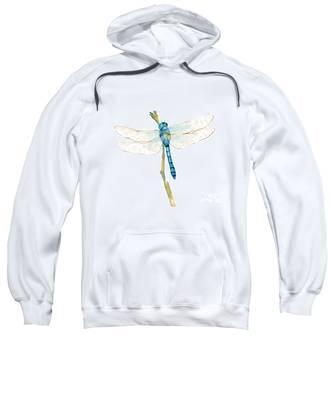 Blue Dragonfly Sweatshirt