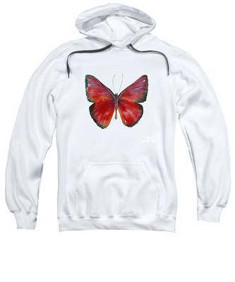 16 Mesene Rubella Butterfly Sweatshirt