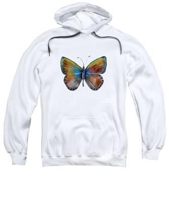 22 Clue Butterfly Sweatshirt