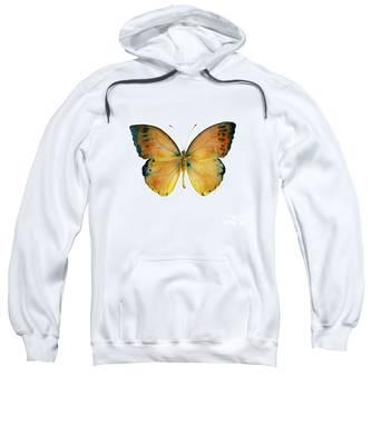 53 Leucippe Detanii Butterfly Sweatshirt