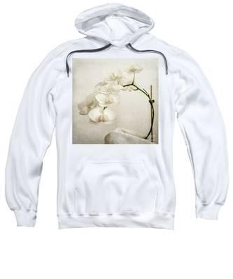 Beautiful White Orchid II Sweatshirt