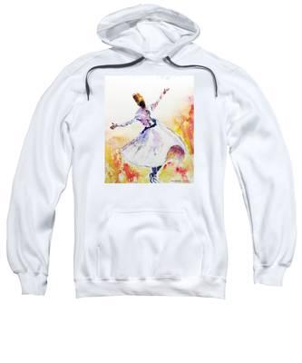 Whirling Sufi Dervish Sweatshirt
