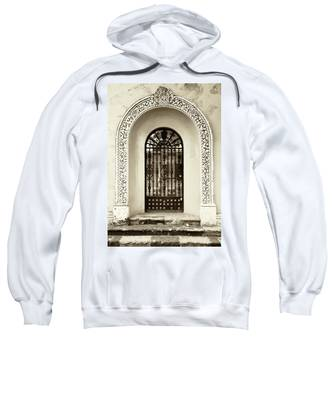 Door With Decorated Arch Sweatshirt