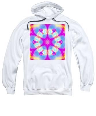 Sweatshirt featuring the digital art Essence Of Spirit by Derek Gedney