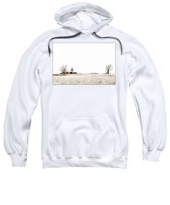 Ethereal Wintry Scene Sweatshirt
