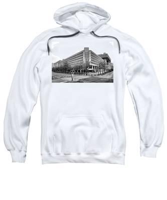 Fbi Building Front View Sweatshirt