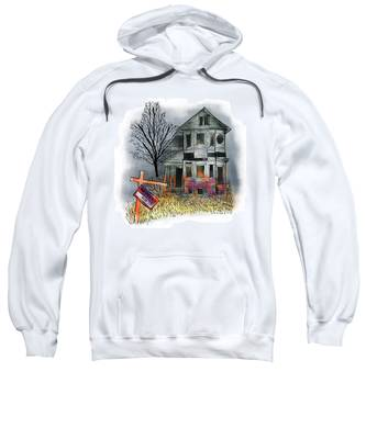 Sweatshirt featuring the digital art Handyman's Special by Mark Armstrong