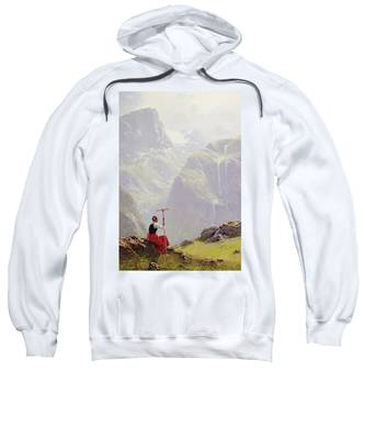 High In The Mountains Sweatshirt
