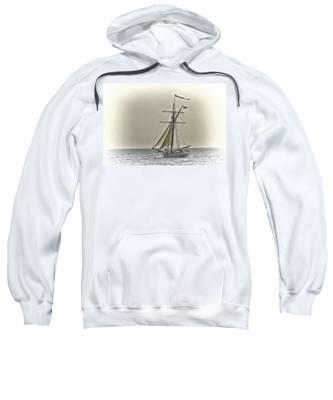 Sailing Off Sweatshirt