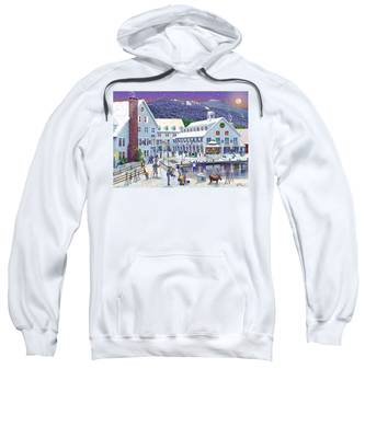 Wintertime At Waterville Valley New Hampshire Sweatshirt