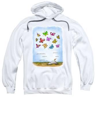 Wistful  Sweatshirt by Mark Armstrong