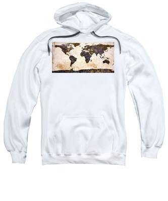 World Map Abstract Sweatshirt
