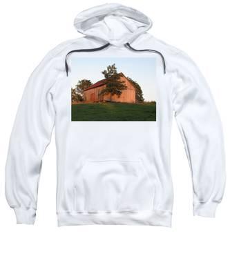 Tobacco Barn II In Color Sweatshirt