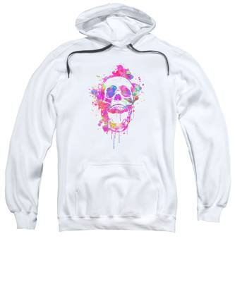 Water Color Hooded Sweatshirts T-Shirts