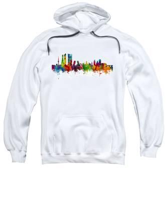 Madrid Spain Skyline Sweatshirt