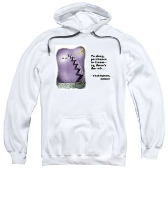 Perchance To Dream Sweatshirt by Mark Armstrong
