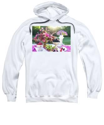 Still Life Sweatshirt by Jill Wellington