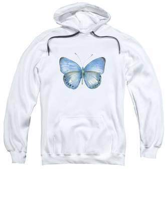 110 Blue Jack Butterfly Sweatshirt