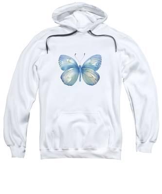112 Blue Marcia Butterfly Sweatshirt