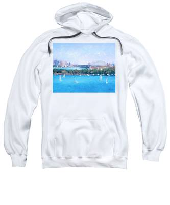 Sydney Harbour And The Opera House By Jan Matson Sweatshirt