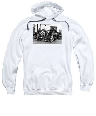 A Group Of Women Associated With The Hells Angels, 1973. Sweatshirt