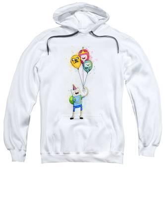 Cartoon Hooded Sweatshirts T-Shirts