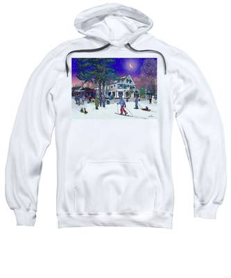 After The Storm At Woodstock Inn Sweatshirt