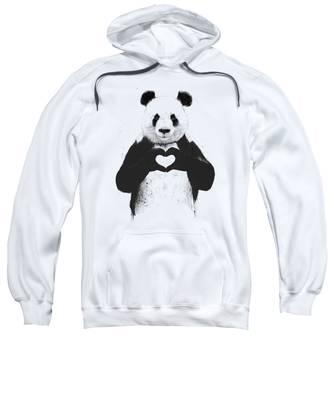 Grunge Hooded Sweatshirts T-Shirts