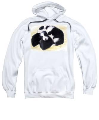 Australian Cattle Dog Puppies Sweatshirt