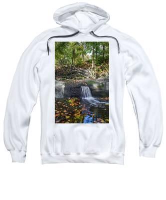 Autumn Glen Olmsted Falls Sweatshirt by Lon Dittrick