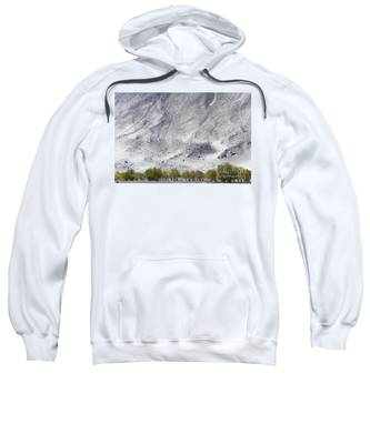 Backdrop Of Sand, Chumathang, 2006 Sweatshirt