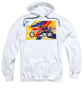 Biker Cat Sweatshirt