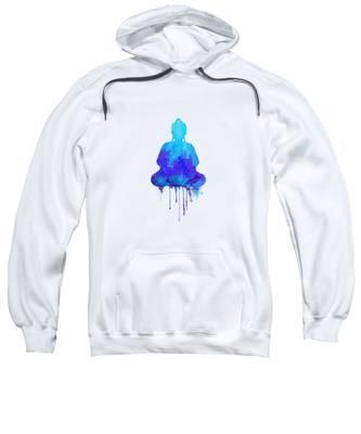 Meditative Hooded Sweatshirts T-Shirts