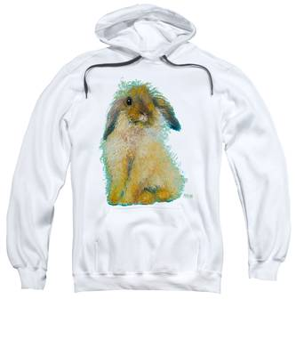 Bunny Rabbit Painting Sweatshirt