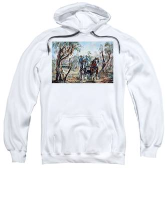 Clydesdales And Cart Sweatshirt