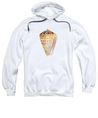 Conus Leopardus Shell Sweatshirt