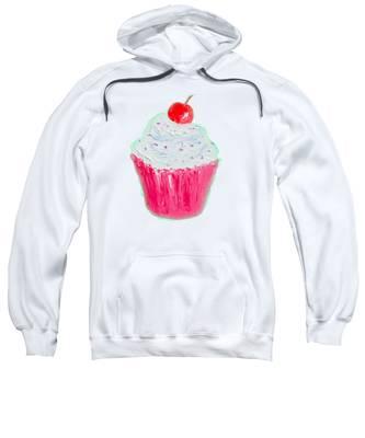 Cupcake Painting Sweatshirt