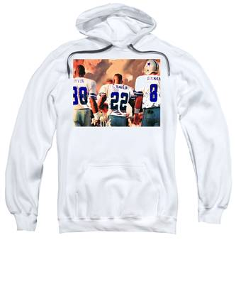 Emmit Smith Hooded Sweatshirts T-Shirts
