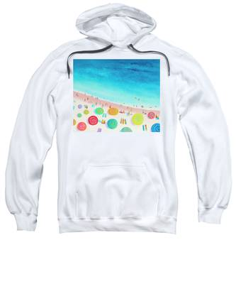 Dreaming Of Sun, Sand And Sea Sweatshirt