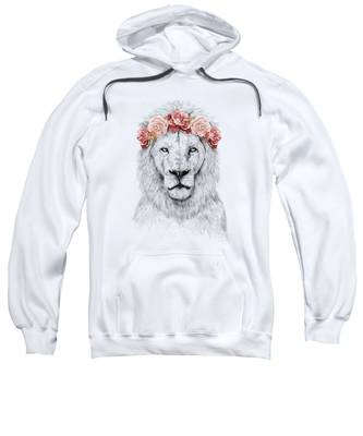 Flower Hooded Sweatshirts T-Shirts