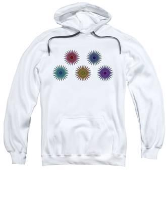 Five Flowers Sweatshirt