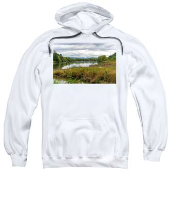 fort Clatsop on the Columbia River Sweatshirt