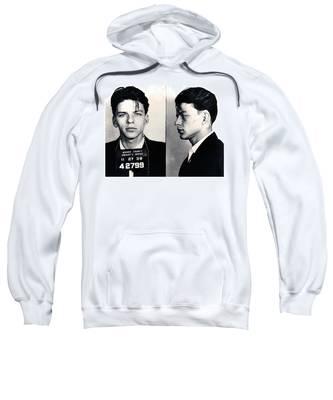 Frank Sinatra Mug Shot Horizontal Sweatshirt