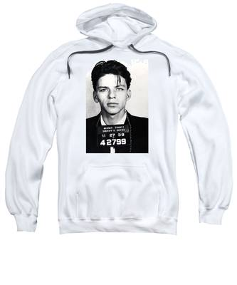 Frank Sinatra Mug Shot Vertical Sweatshirt
