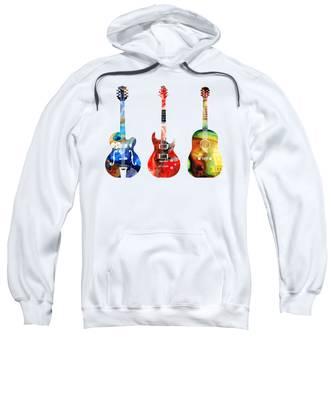 Guitars Hooded Sweatshirts T-Shirts