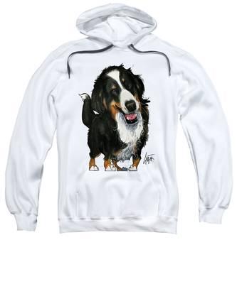 Bernese Mountain Dog Hooded Sweatshirts T-Shirts