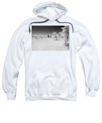 Infrared Peach Orchard Sweatshirt